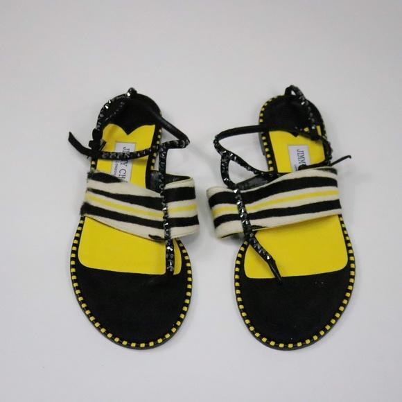 Jimmy Choo Shoes   Tayo Multi Color Zebra Print G003   Poshmark